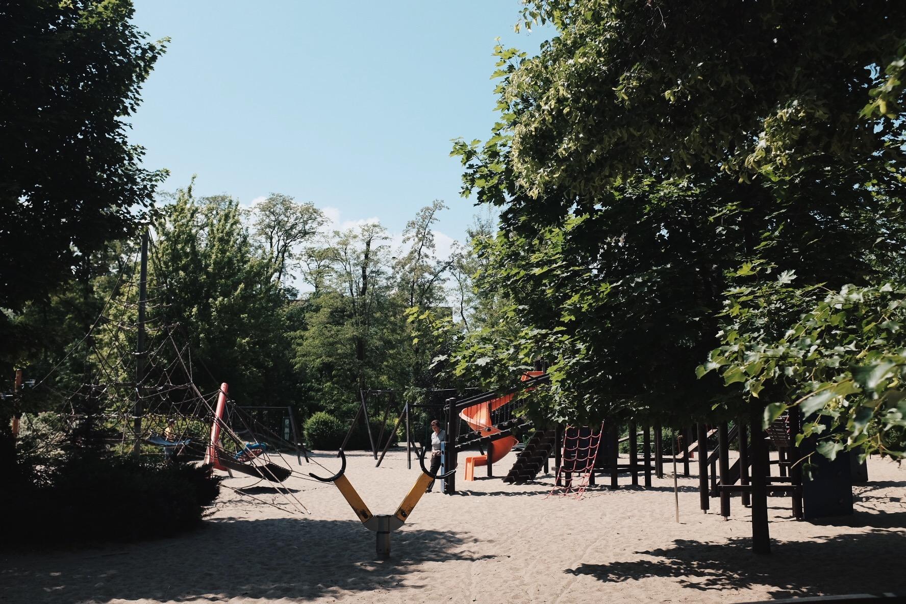 Fort Bema plac zabaw